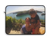 """PERSONALISED your photo laptop sleeve - make your own design - Laptop Sleeve 12"""" 13"""" 15"""""""
