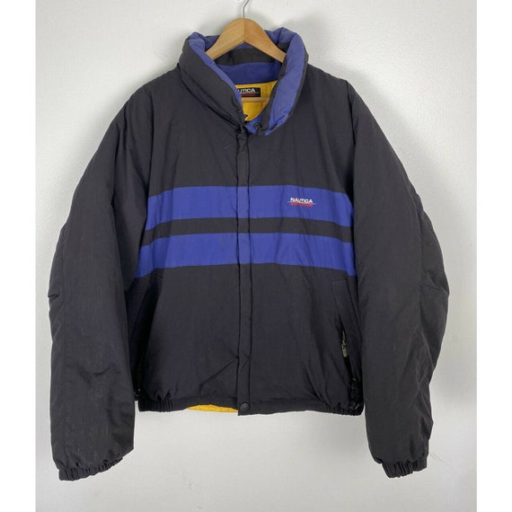 Vintage Nautica Competition Jacket 100% Down Puffe