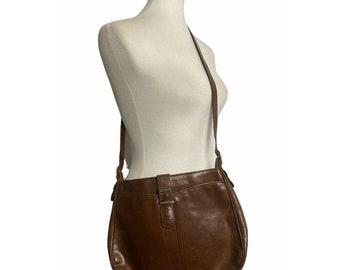Vinatge Salvatore Ferragamo Brown Leather Purse