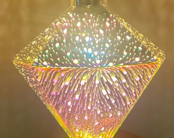 Edison Light Bulbs  Firework Heart/Diamond