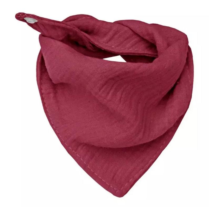 Baby bandana bib to customize