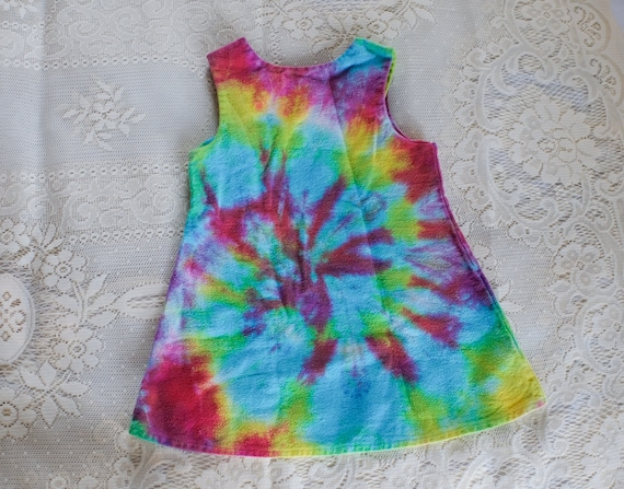 The Most Perfect Kids Size Vintage Y2K Tie Dye Sp… - image 2