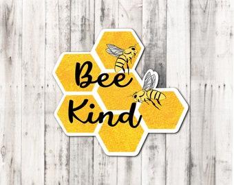 "Spring ""Bee Kind"" sticker"