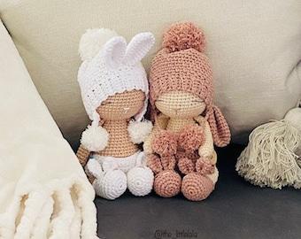 Crochet pattern, bunny Eli - ENGLISH
