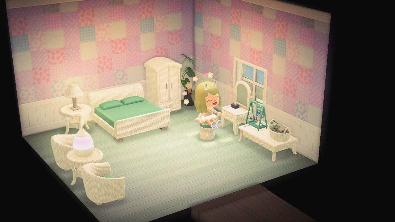 Animal Crossing New Horizon Rattan Furniture Set | Etsy