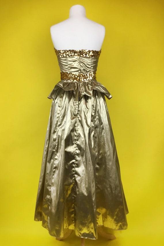 80's Gunne Sax Party Cocktail Dress - image 3