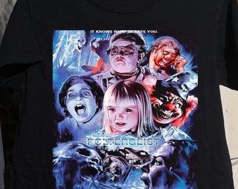 Classic 1980'S HORROR MOVIE POLTERGEIST shirt funny shirt, heavy metal print Art T Shirt Gift for men, women Unisex T shirt
