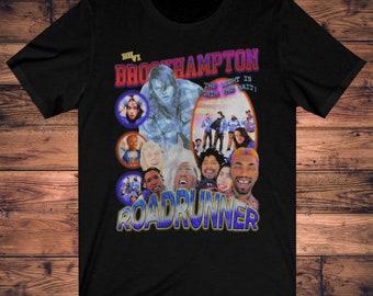Brockhampton Roadrunner Vintage Bootleg Unisex T-Shirt shirt print Art T Shirt Gift for men, women Unisex T shirt