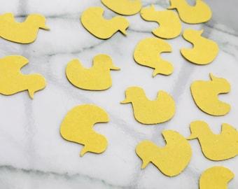 Duck Confetti  150 Rubber Duck Confetti  Baby Shower Confetti  Yellow Duck Confetti  Baby Confetti  Baby Duck Confetti  ANY COLOR S
