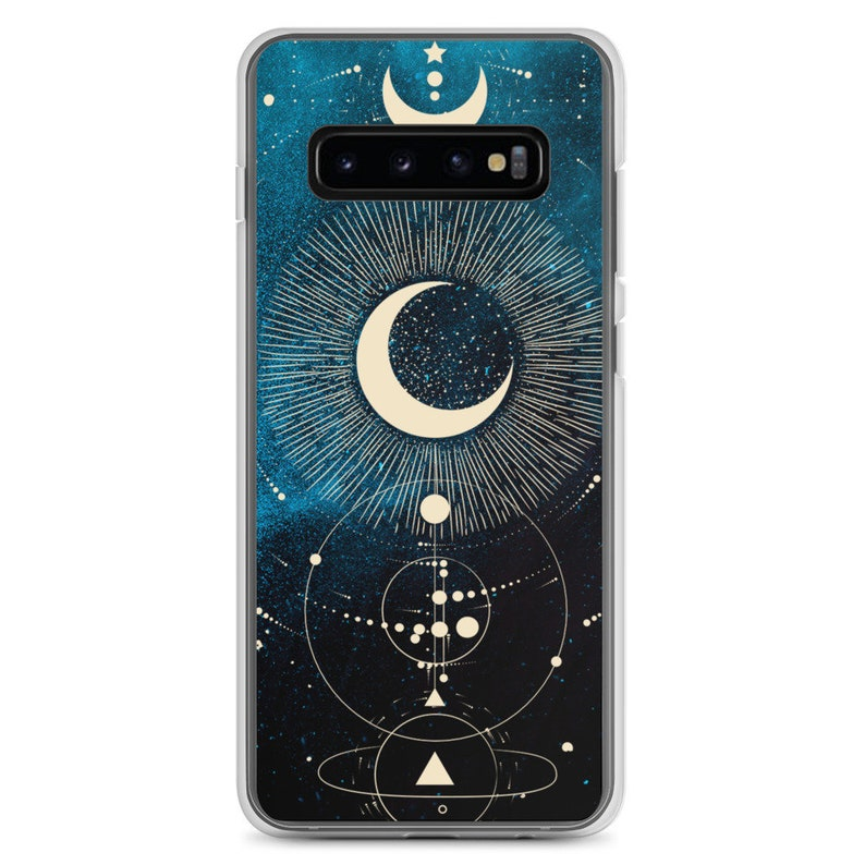 Moon Sun Celestial Samsung Galaxy Phone Case
