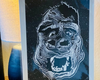 King Kong (original) Print