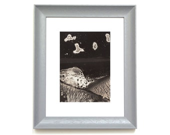 Asteroid 007 - 7x5 inch - Original Hand Printed Chemigram - Alternative Photographic Print