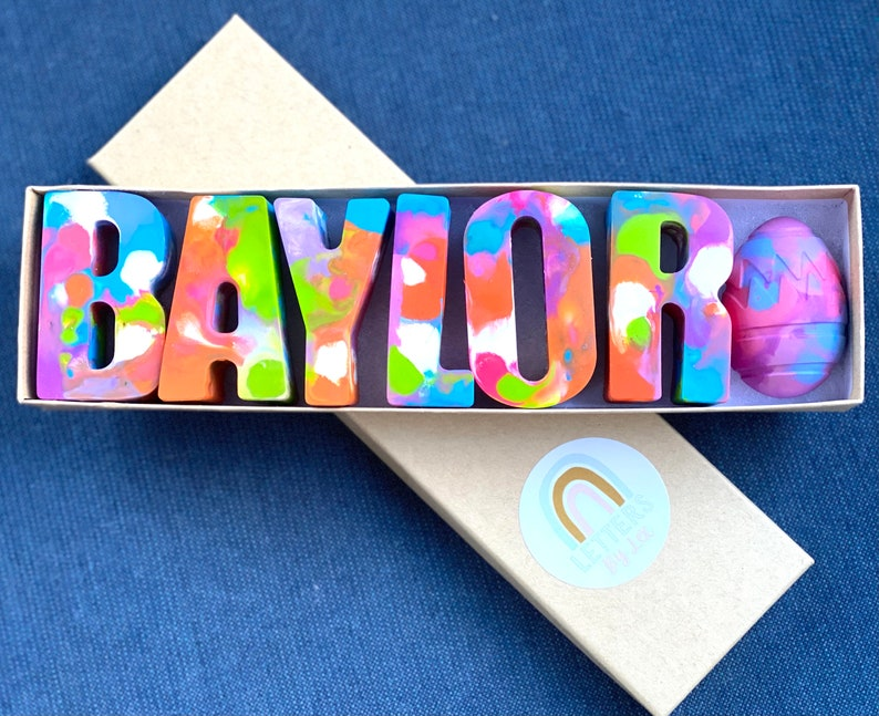 Kids Personalized Name Crayons
