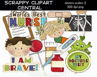 Doctors Orders (2) Clipart - Create Nurse's Day Printables - Commercial Use - Worlds Best Doctor PNG - Number 1 Nurse Mug -