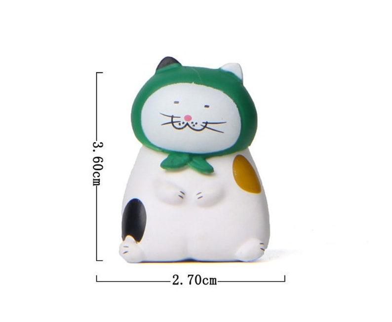 Miniature Cats,Miniature Pet,Miniature Animal,Craft Home Car Decorative,Dollhouse Pet,Miniature Christmas Decoration,Presents Mini Decor