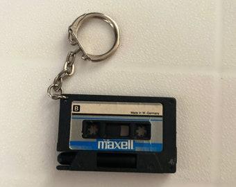 3D Printed Stranger Things Inspired Cassette Tape Keyring Bag chain Large