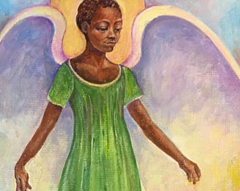 Guardian Angel Note Card