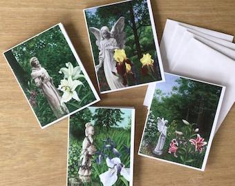 Garden Icons Notecard Assortment, set of 4