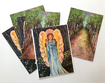 Sympathy & Encouragement Note Cards - Set of 6