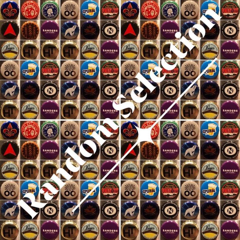 B Bottle Cap Magnet Collection