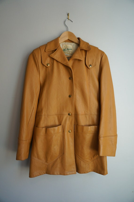 Vintage 50's Leather Coat