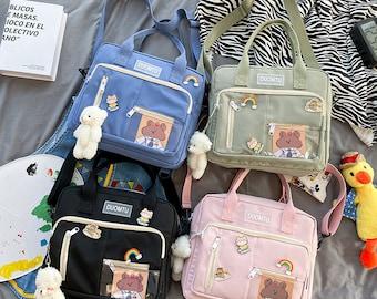 cute clear Messenger bag,kawaill crossbody bag, Ita Bag,Ita Bag Crossbody