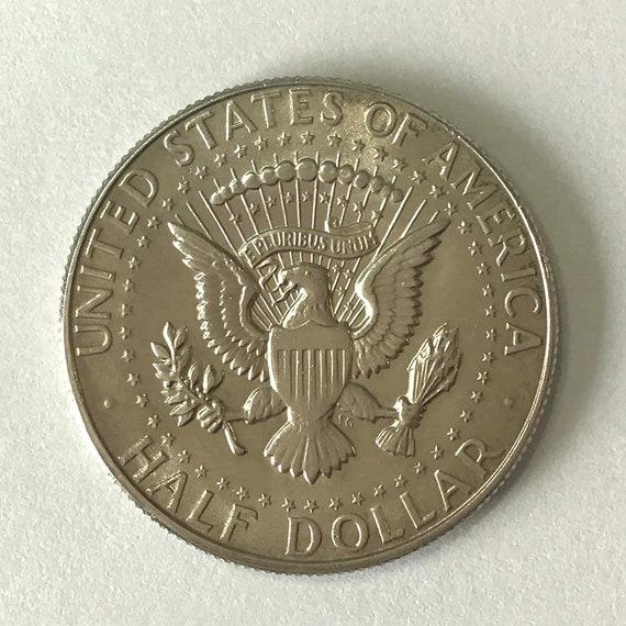 Kennedy Half Dollar, 1967 fifty cent piece USA American Silver HALF DOLLAR with Kennedy