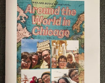 Around the World in Chicago Travel Guide, Vol. 2 - Print version