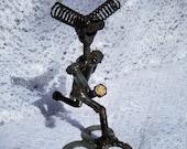 welded metal folk art spring runner
