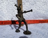 welded robot folk art