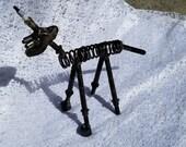 welded  metal folk art