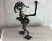 warior welded folk art