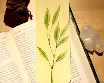 Original Hand Painted Branch Bookmark