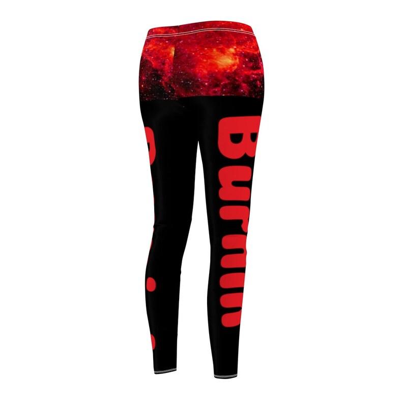 Burnin/' Women/'s Cut /& Sew Casual Leggings
