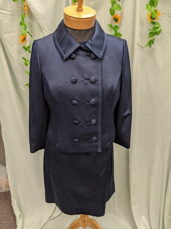 Vintage ladies dress and jacket suite set GORGEOUS