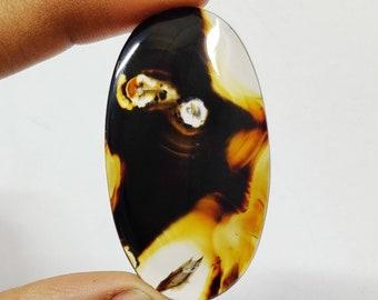 Sterling Silver Montana Sodalite Earrings Leverback 2 Long Oval Dangles 171603