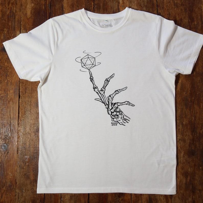 Death Plays Dice T-shirt unisex