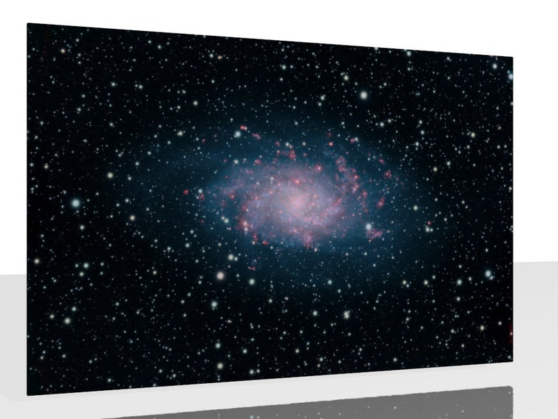 Kunstdruck Wandbild Triangulum Galaxie Messier 33 Alu image 0