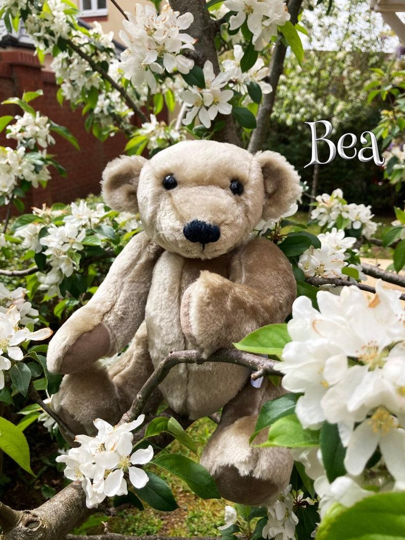 Bea  Handmade jointed artist teddy bear from 'Faery image 0