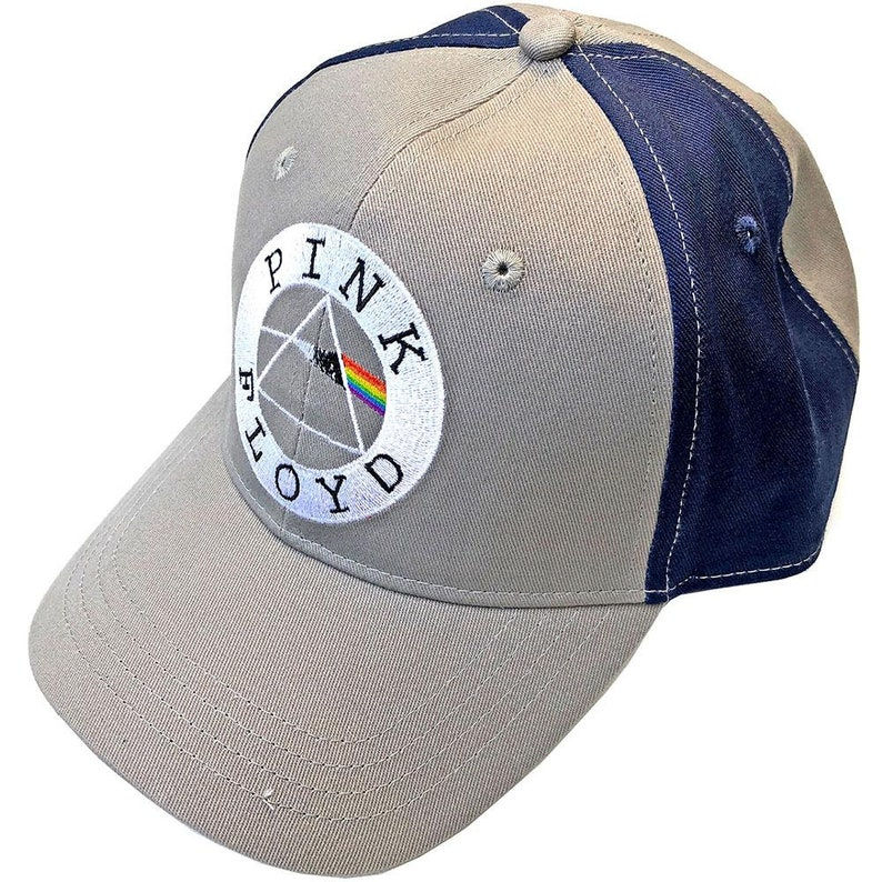 Pink Floyd Unisex Baseball Cap Circle Logo 2 Tone