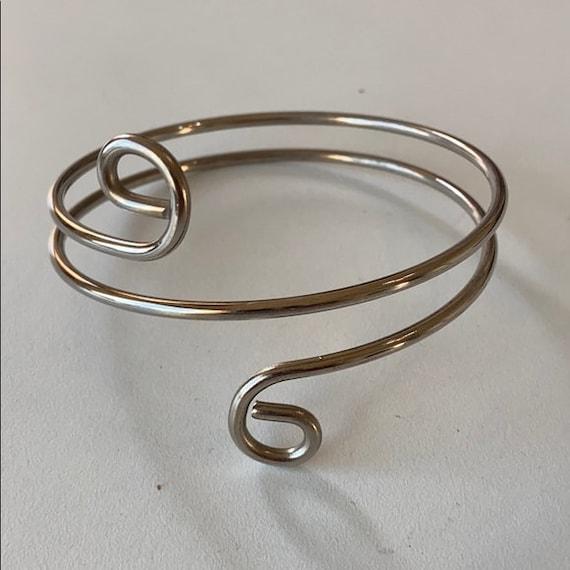 Vintage Silver Upper Arm Bracelet