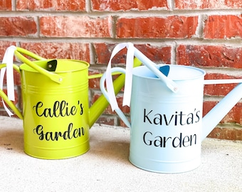 Personalized Watering Can   Garden Gift   Spring 2021   Garden Lover Gift   Spring Garden   Garden Decor   Indoor Plants   Modern Water Can