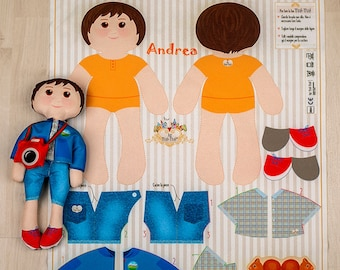 Andrea - Kit for fashion doll