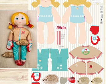 Silvia - sewing kit for fashion dolls