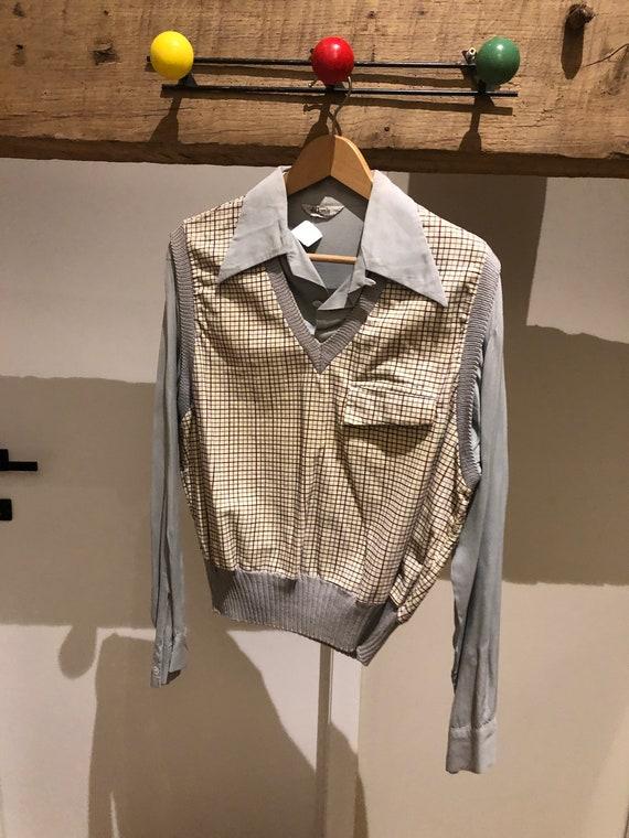 Beautiful gaucho shirt 1940/1950