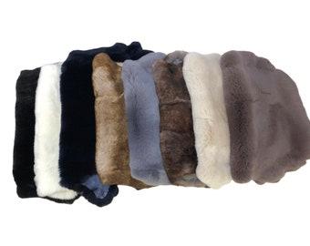 rbt1070 Glacier Wear Rex Rabbit Pelts Hides Fur Castor