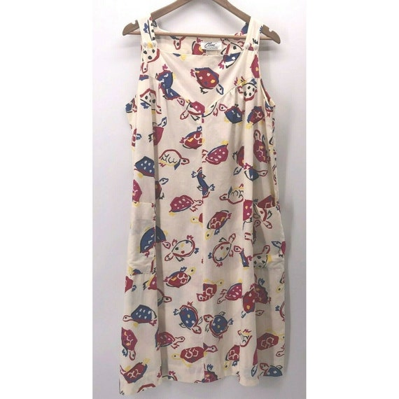 Vintage Alice Of California Dress Size XL? 60s Jum