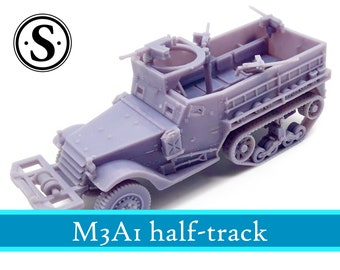 M3A1 half-track | Vehicles | RPG | WWII