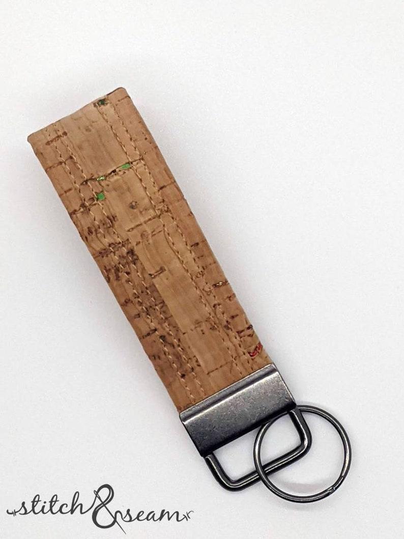 Cork Key Fob