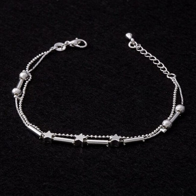 New Little Star Women Chain Ankle Bracelet Barefoot Sandal Beach Foot Jewelry Foot Accessories Foot Anklet Bracelets For Women